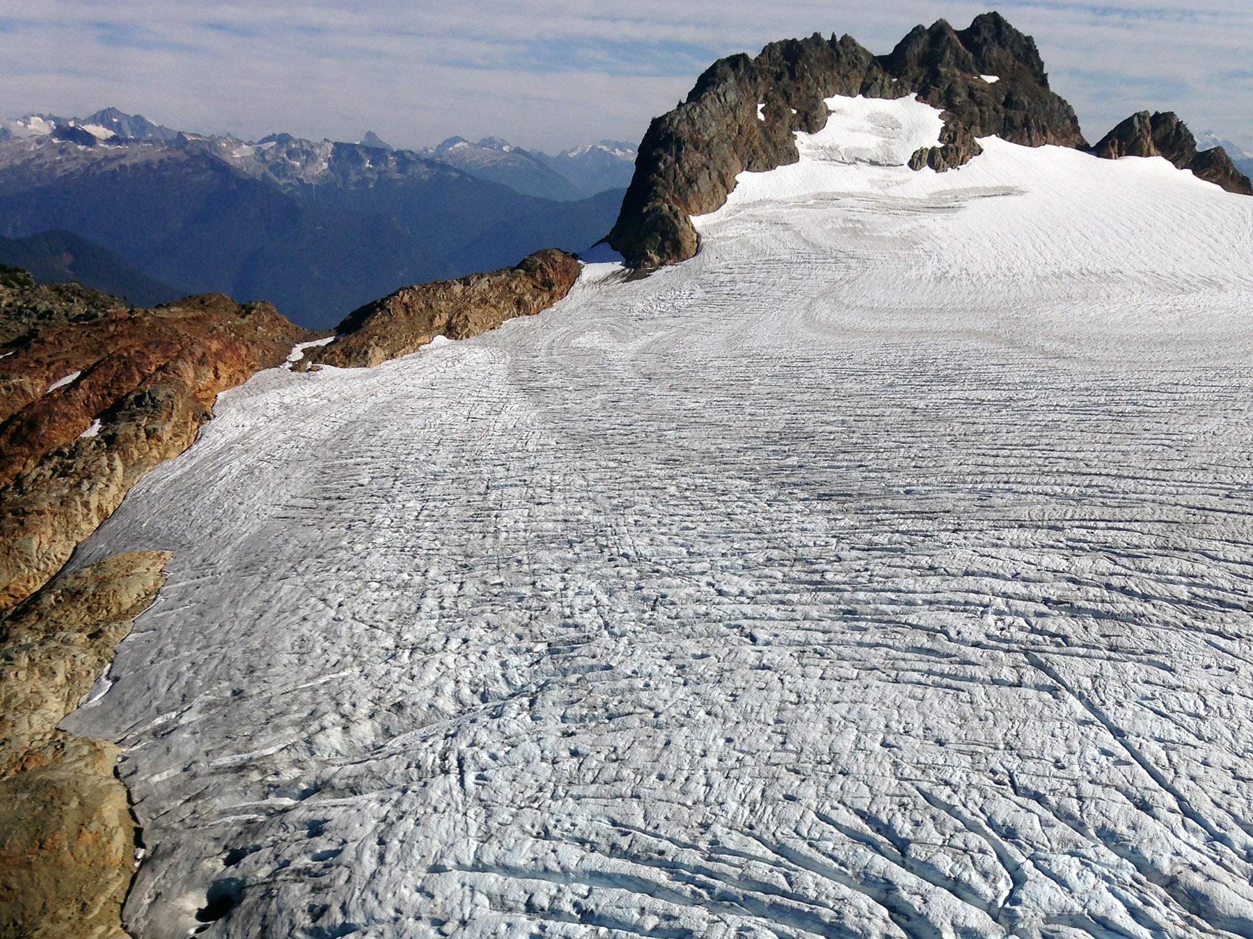 Range of Glaciers Scenic Flight North Cascades