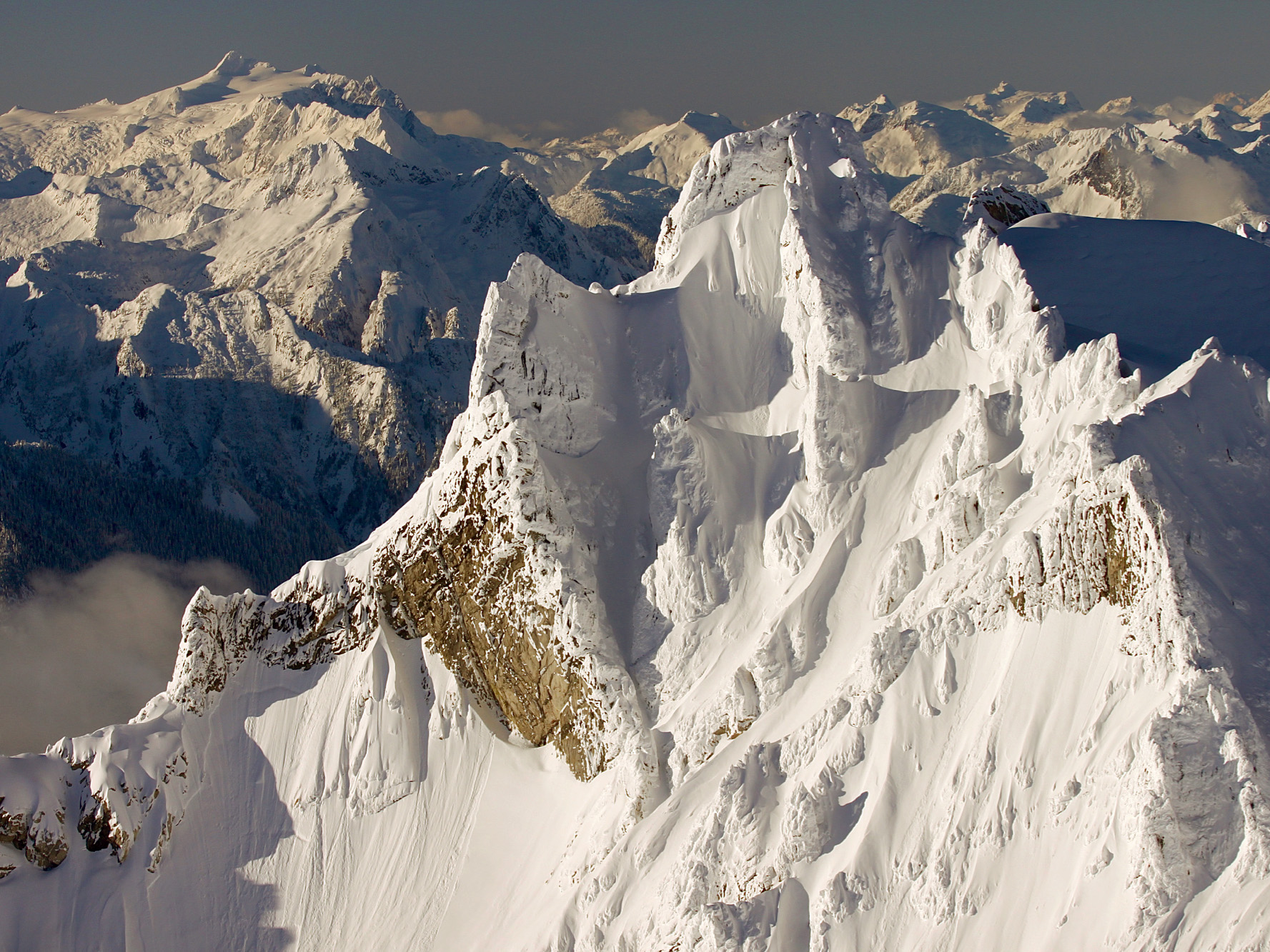 Distant Mt Shuksan